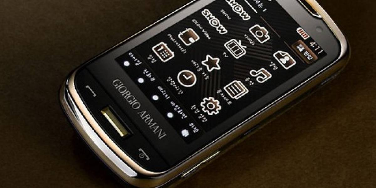 Samsung Armani: especificaciones e imágenes
