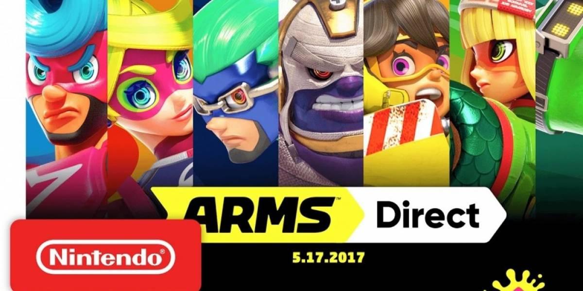 Resumen del Nintendo Direct de ARMS del 17 de mayo