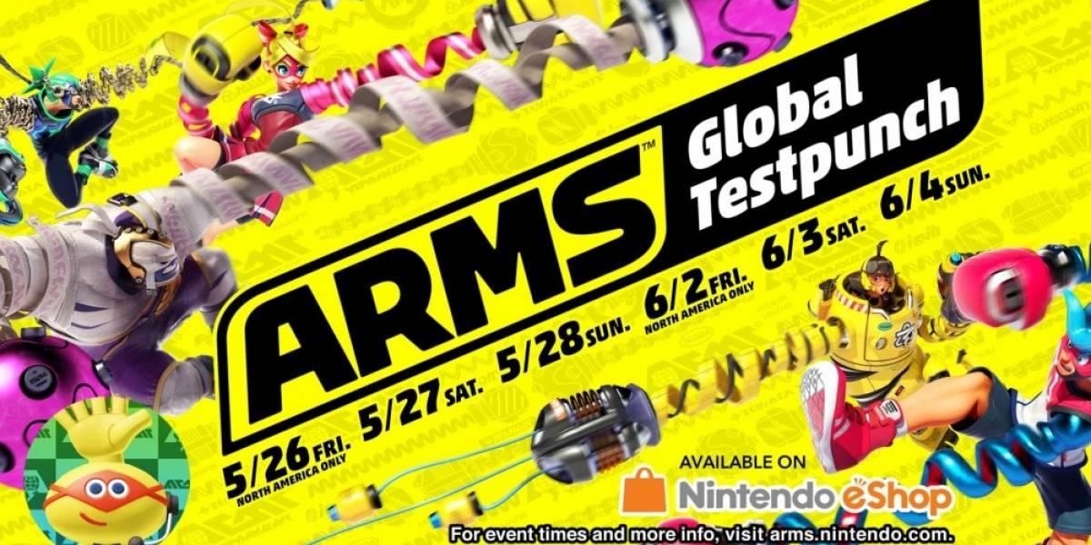 El Global Testpunch de Arms volverá con más modos este fin de semana