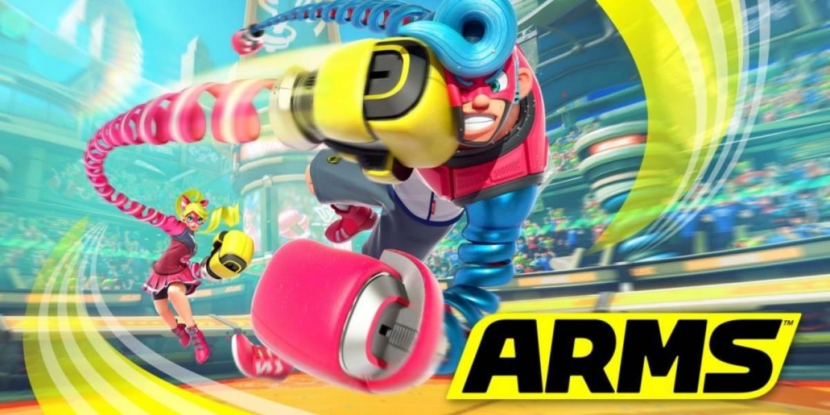 Filtran cuánto espacio ocupará Arms en la Nintendo Switch