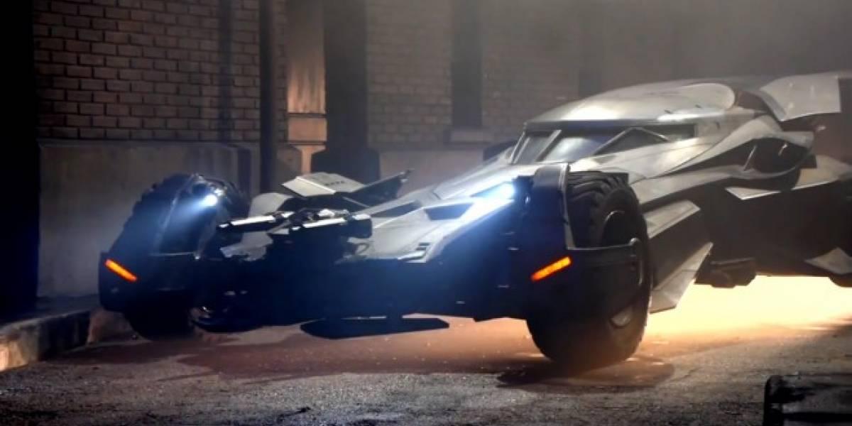 Así luce el nuevo Batimóvil de Batman v Superman: Dawn of Justice