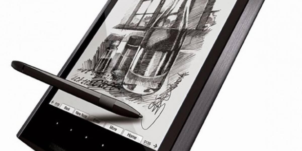 Asus Eee Tablet e-Reader/Writer, demostración en video