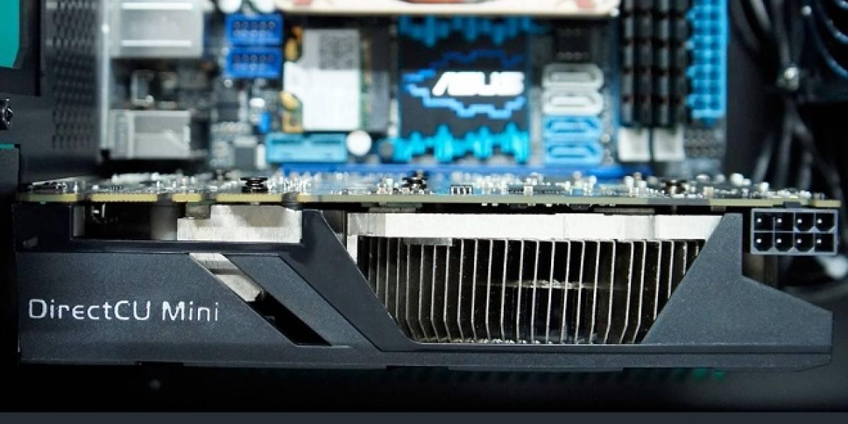 ASUS anuncia su nueva tarjeta de video GTX 670 DirectCU Mini