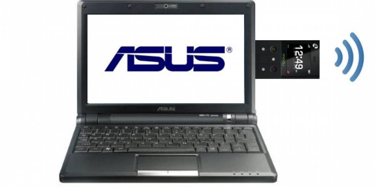 Futurología: Asus lanzará una netbook con teléfono extraíble