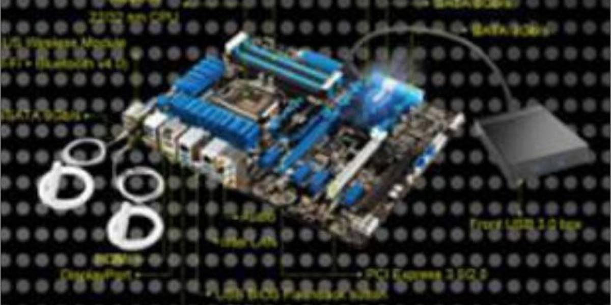 Tarjeta madre tope de gama Asus P8Z77-V Deluxe por ¿US$399?