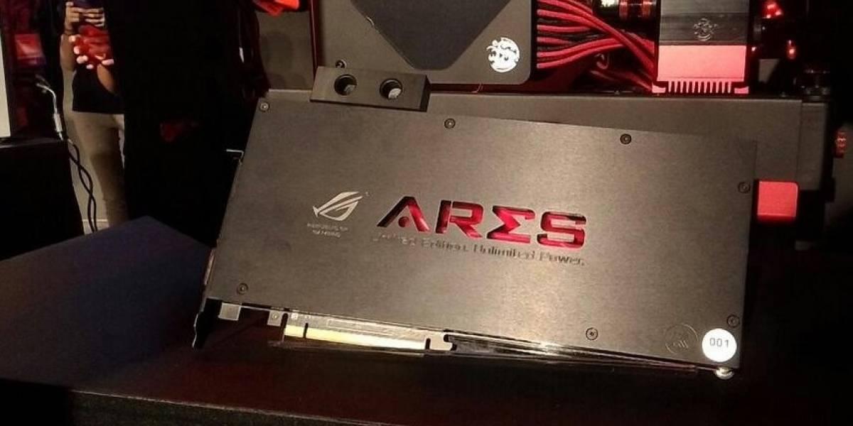 ASUS anuncia su tarjeta gráfica ROG Ares III