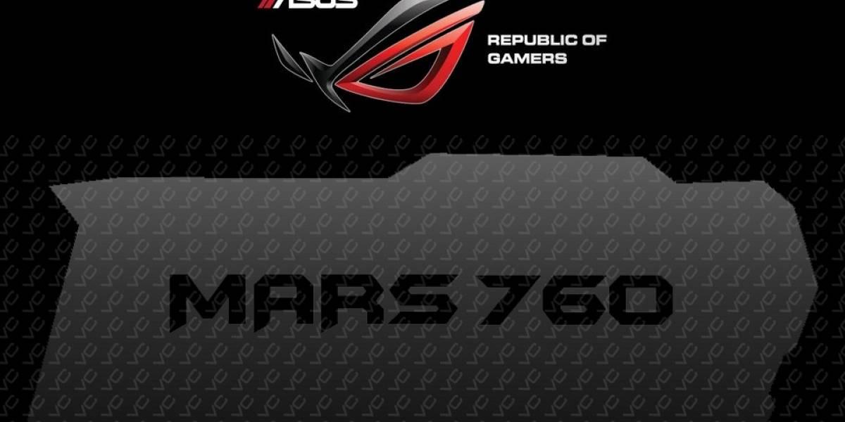 ASUS prepara su nueva tarjeta de video ROG MARS 760