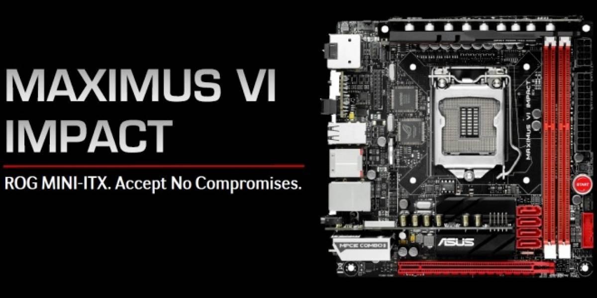 ASUS revela su tarjeta madre Z87 Maximus VI Impact #CTX2013