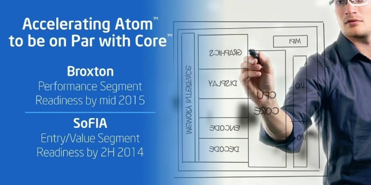"""Intel anuncia sus nuevos SoC Atom """"SoFIA"""" y """"Broxton"""""""