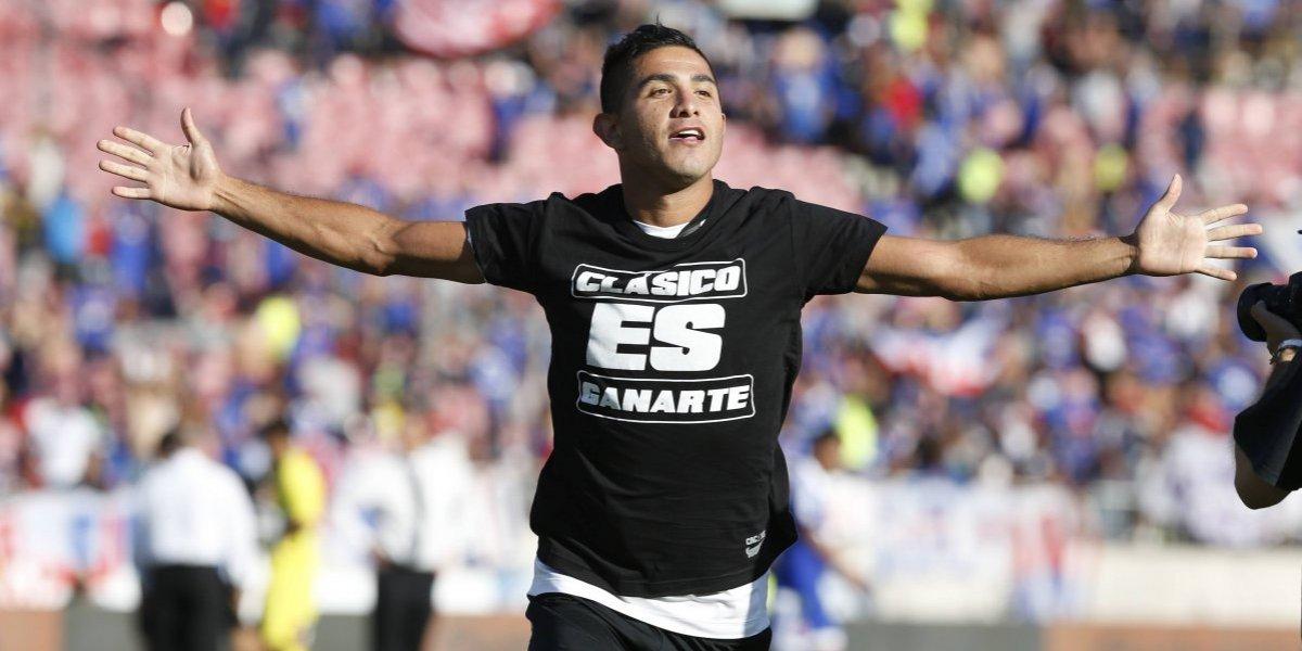 """Felipe Flores piensa en grande: """"Quiero retomar mi nivel y a mitad de año volver a Colo Colo"""""""