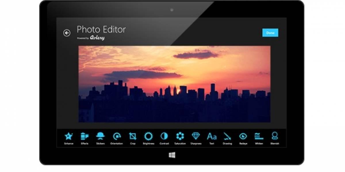 AMD y Aviary se unen para llevar el editor de imágenes de Aviary a Windows 8
