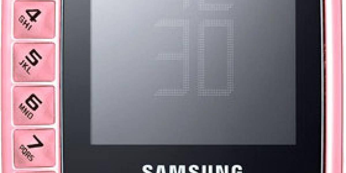Samsung B3310: Un móvil con un original diseño