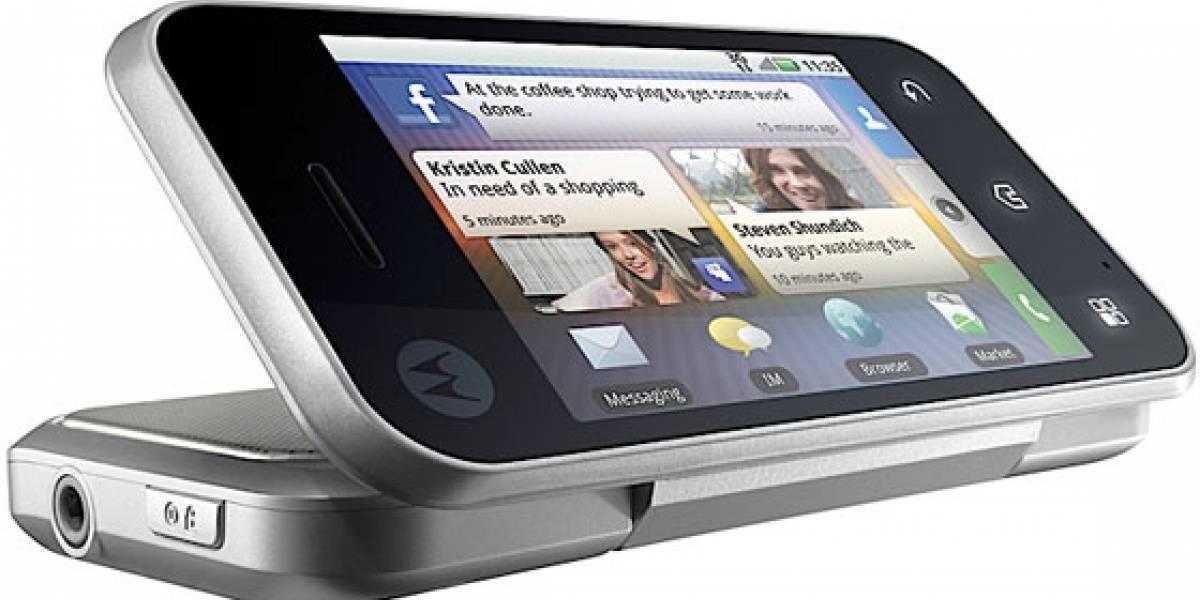 CES10: Motorola anunció el Backflip, con MotoBlur y Backtrack