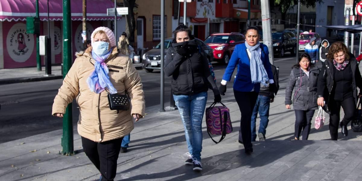 Aumentan 67% hospitalizaciones por frío en esta temporada invernal