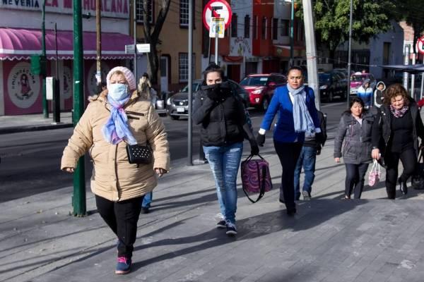 Suspenden clases por frío en cinco delegaciones