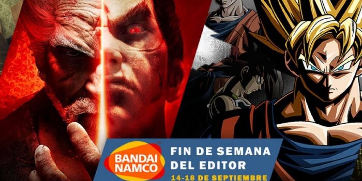 Bandai Namco tiene Venta Especial en Steam