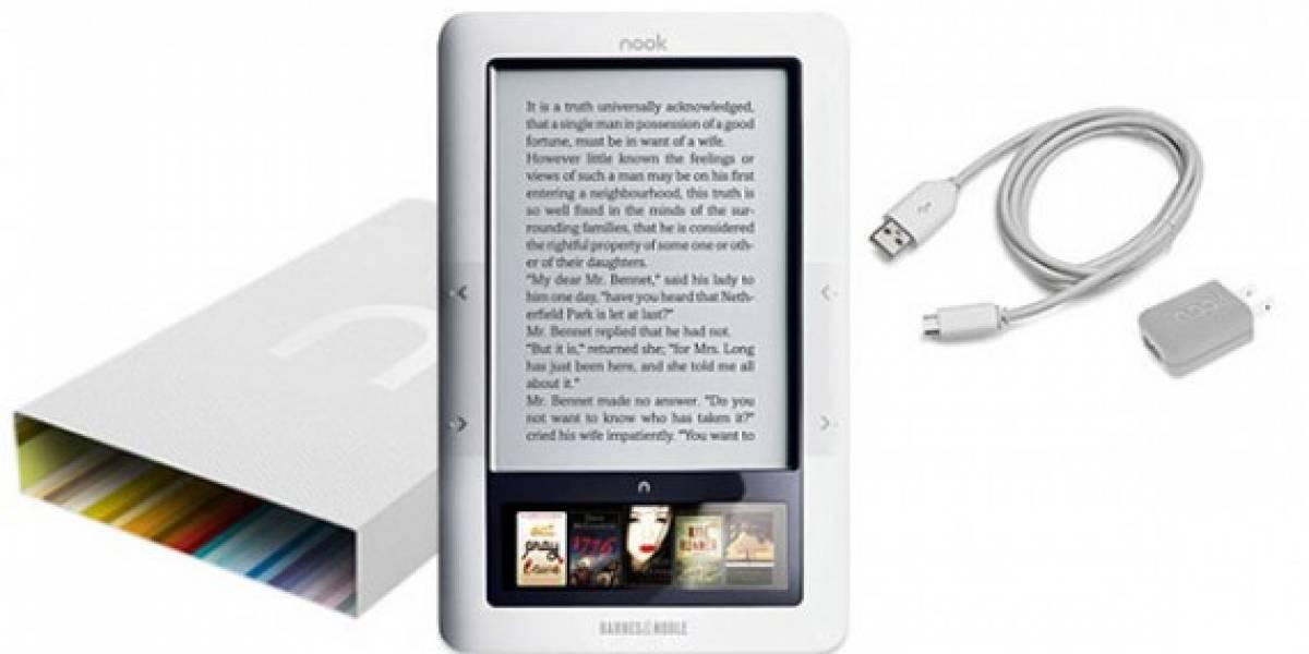 Nook recibe navegador, lectura gratis en tienda y juegos en nuevo firmware