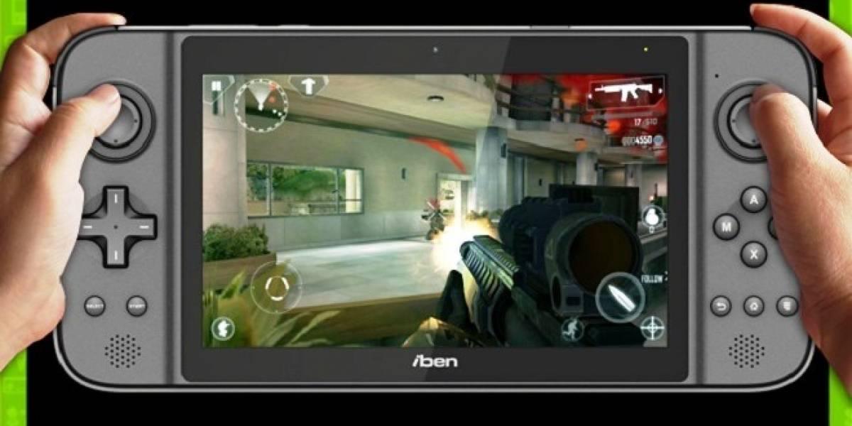 Iben X GamePad: La tablet convertible en consola, basada en Android