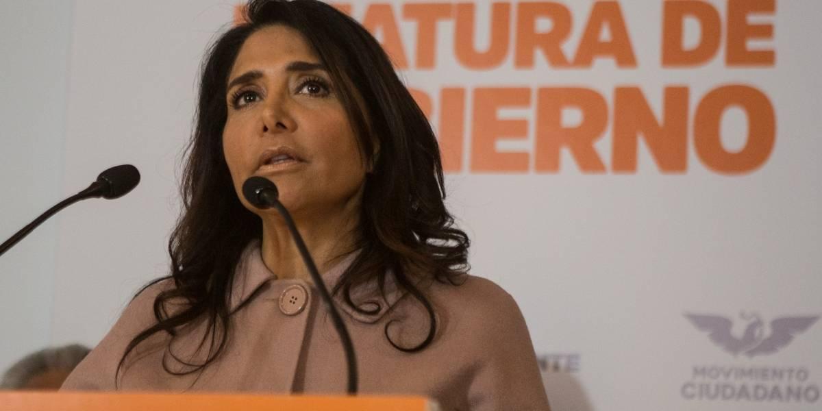 Alejandra Barrales se registra como precandidata de Movimiento Ciudadano