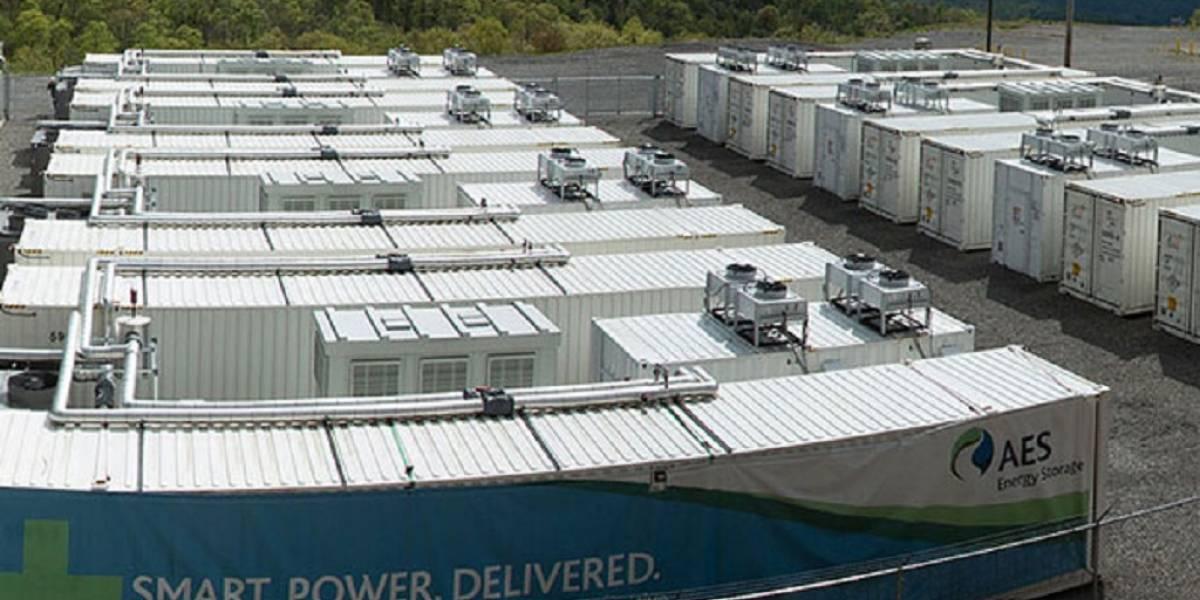 Construirán plantas de energía eléctrica con baterías gigantes en el corto plazo
