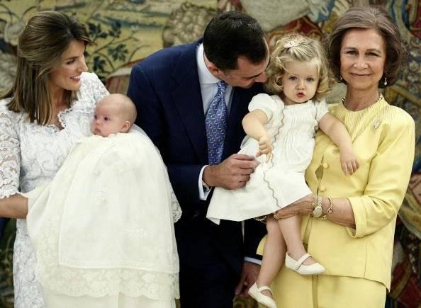 princesa Leonor princesa Sofía rainha rei Felipe Espanha