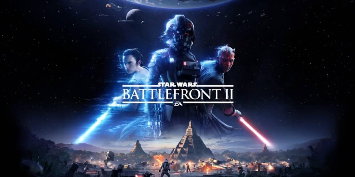 Vean la jugabilidad de Star Wars: Battlefront II la próxima semana