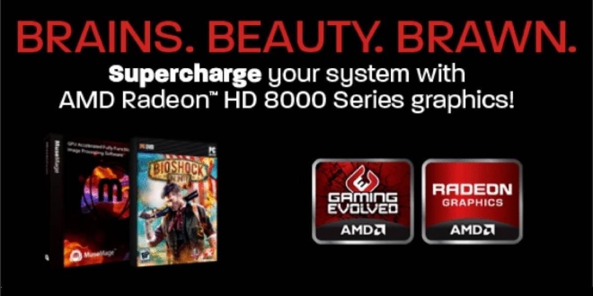 AMD regala Bioshock Infinite y Musemage con sus GPUs Radeon HD 8000 OEM Series