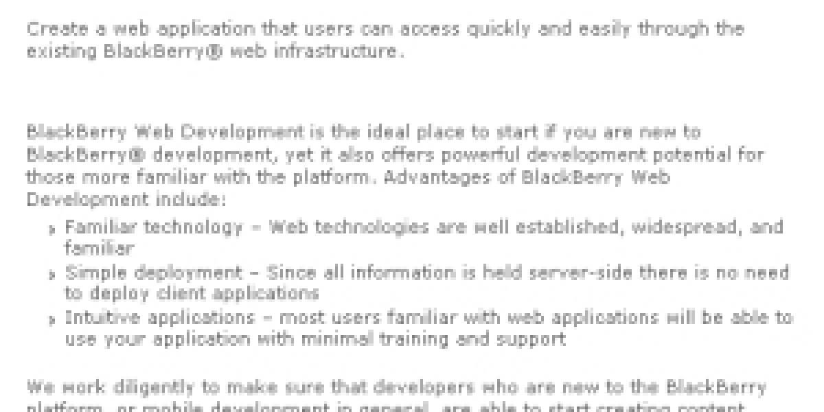 RIM lanza herramientas para desarrolladores de aplicaciones Web