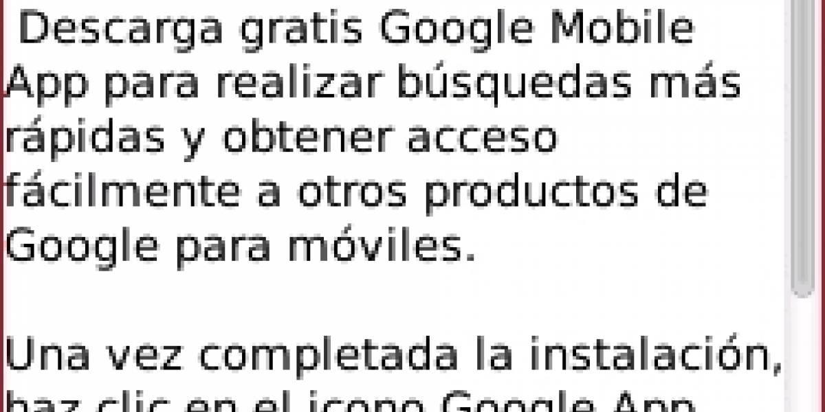 Google actualiza su aplicación para móviles