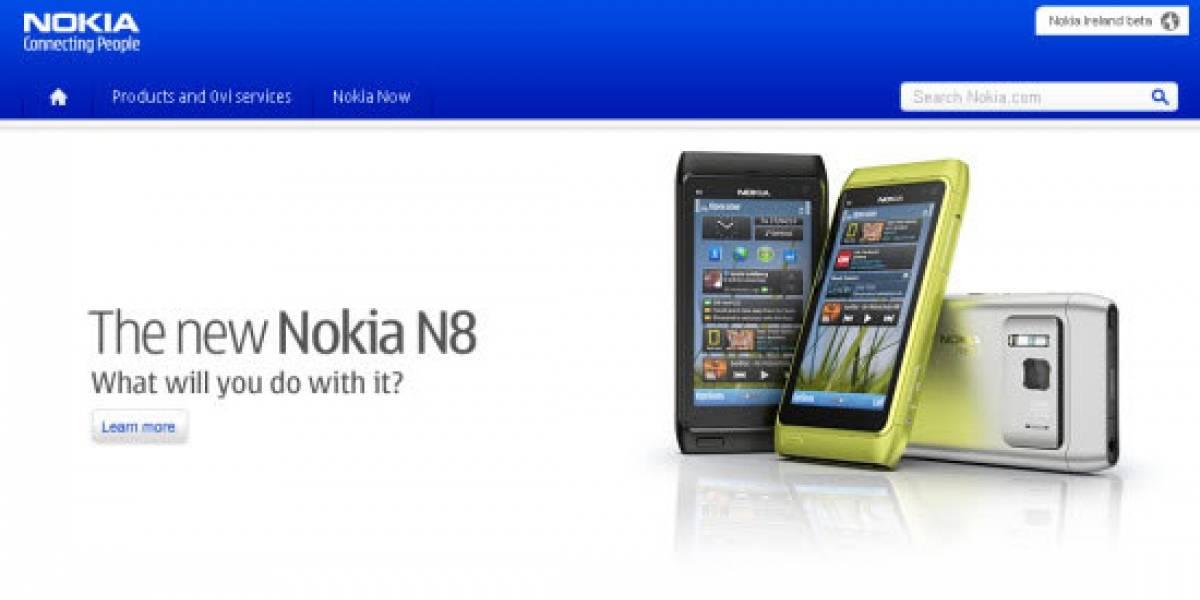 Nokia prepara un nuevo diseño para Nokia.com