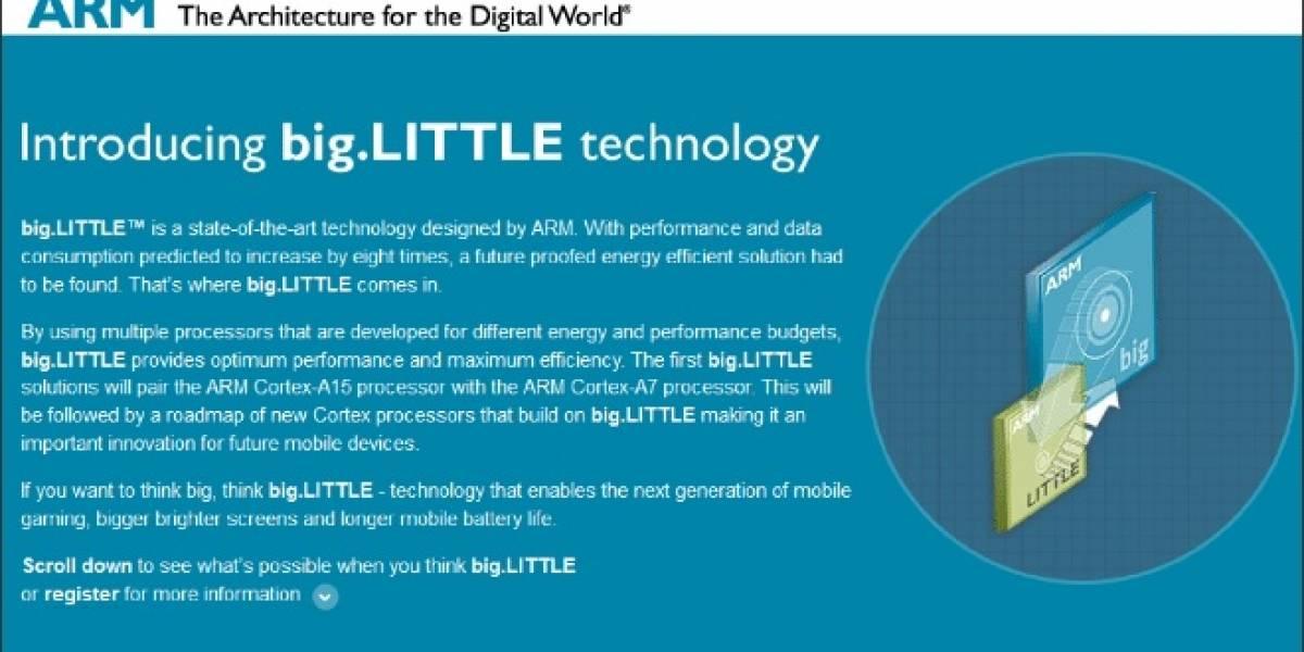 ARM: Hemos licenciado big.LITTLE a 17 empresas