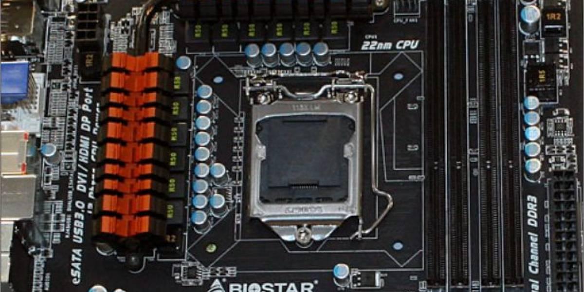 CeBIT 2012: Biostar muestra sus tarjetas madre Z77 y Z75