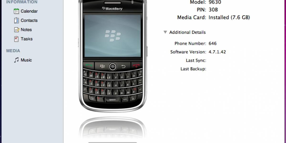 Futurología: BlackBerry Desktop Software para Mac el 25 de Septiembre