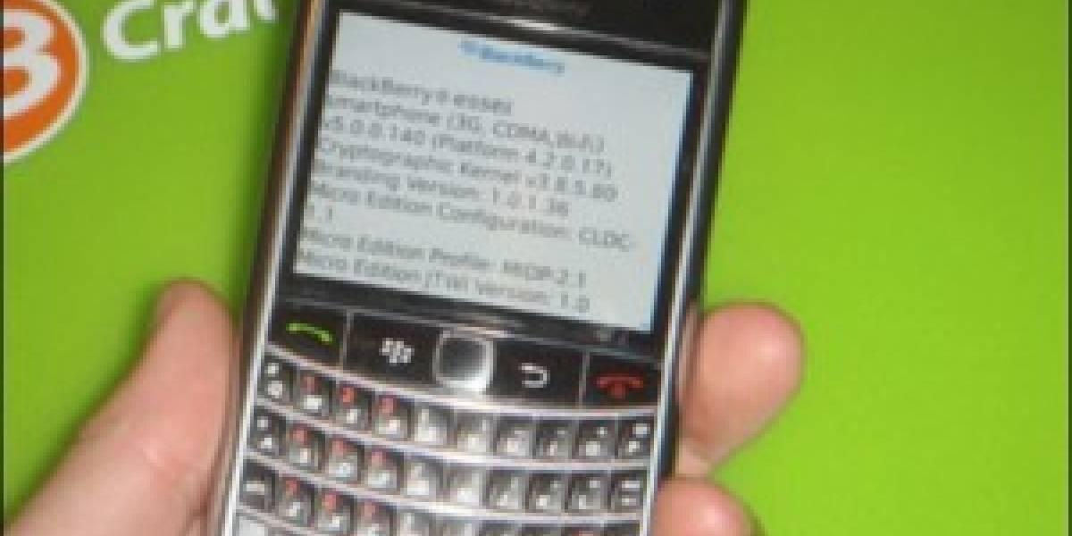 BlackBerry Tour 2 (ESSEX) retrasada y con nuevo nombre