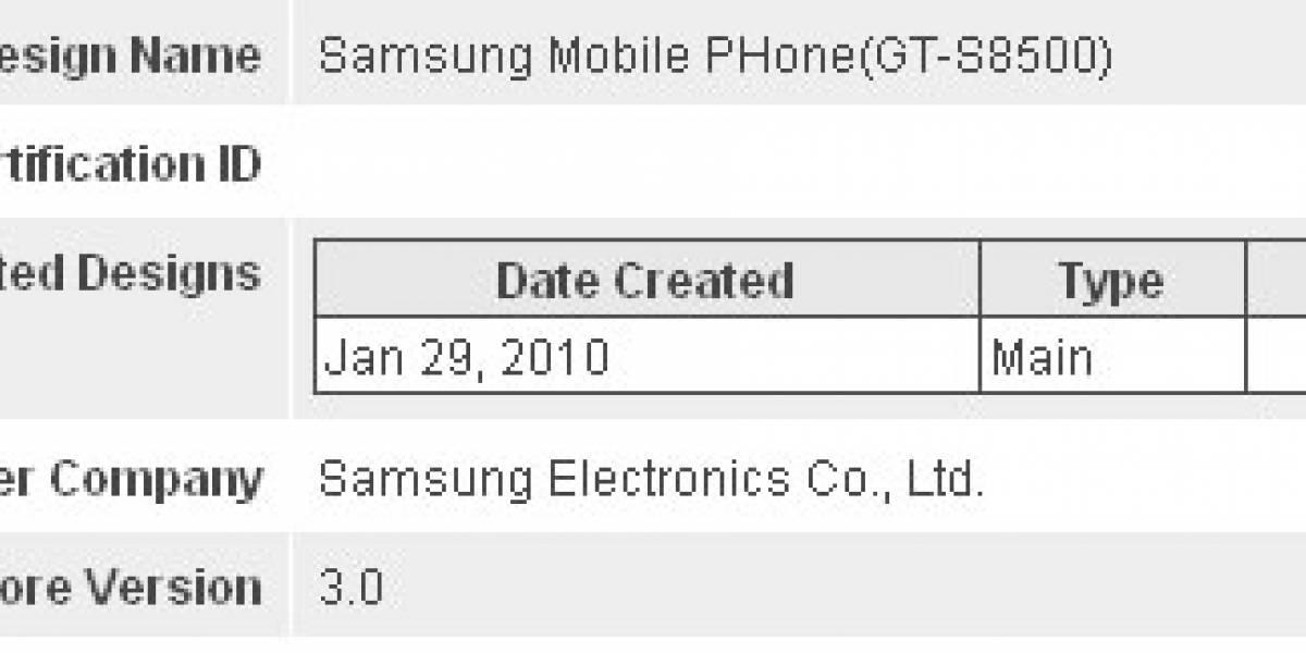 Samsung GT-S8500: El primer móvil con Bluetooth 3.0