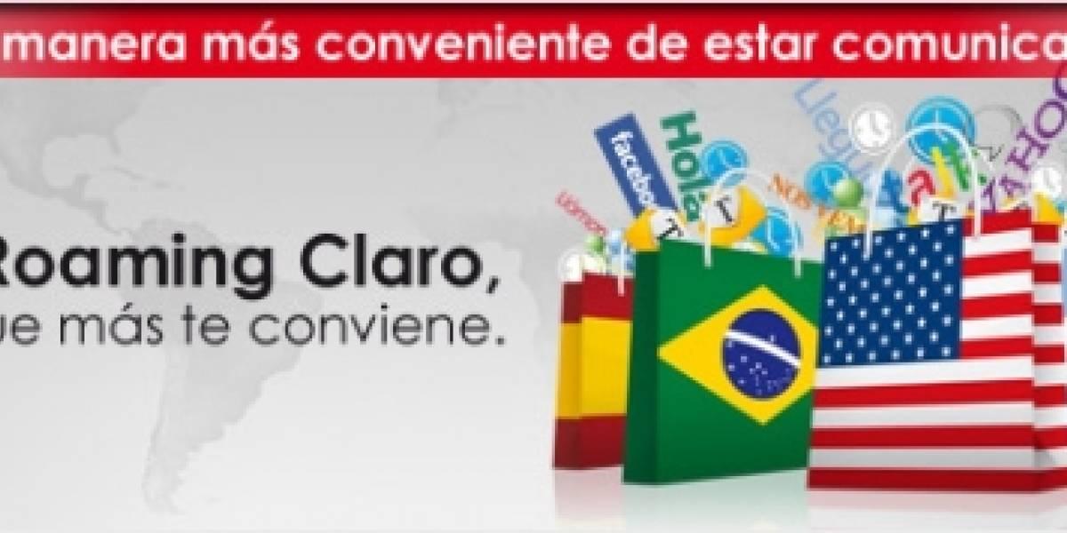 Claro Chile ofrece nuevas bolsas de Roaming