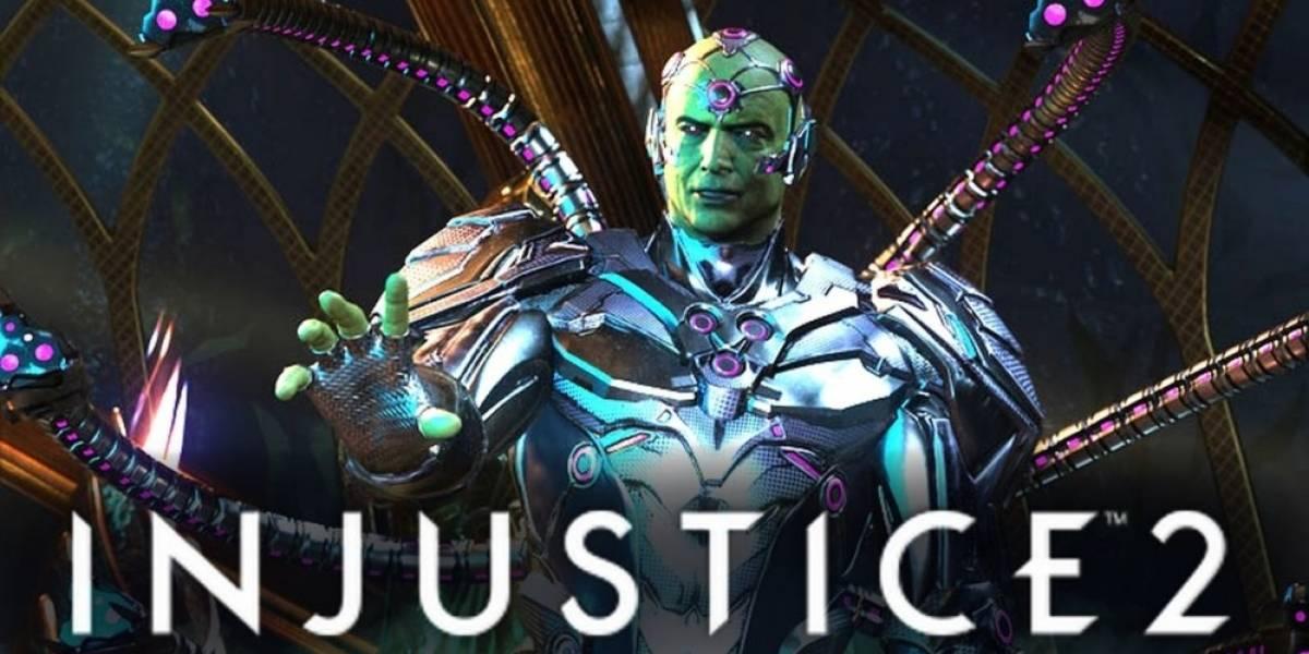 Así es el combate de Brainiac en Injustice 2