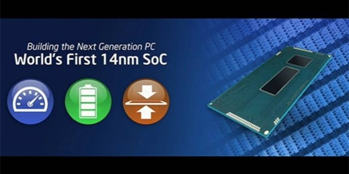 Especificaciones de los microprocesadores y SoCs Intel Broadwell para dispositivos móviles