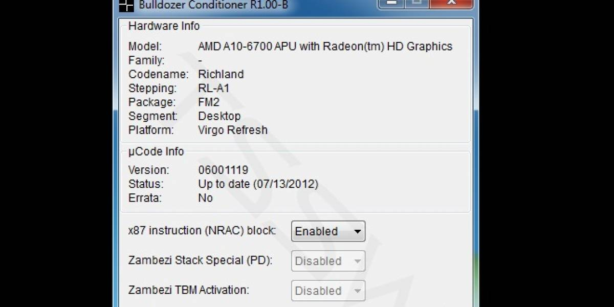 Bulldozer Conditioner: Más rendimiento en SuperPi para los CPUs AMD FX/A Series
