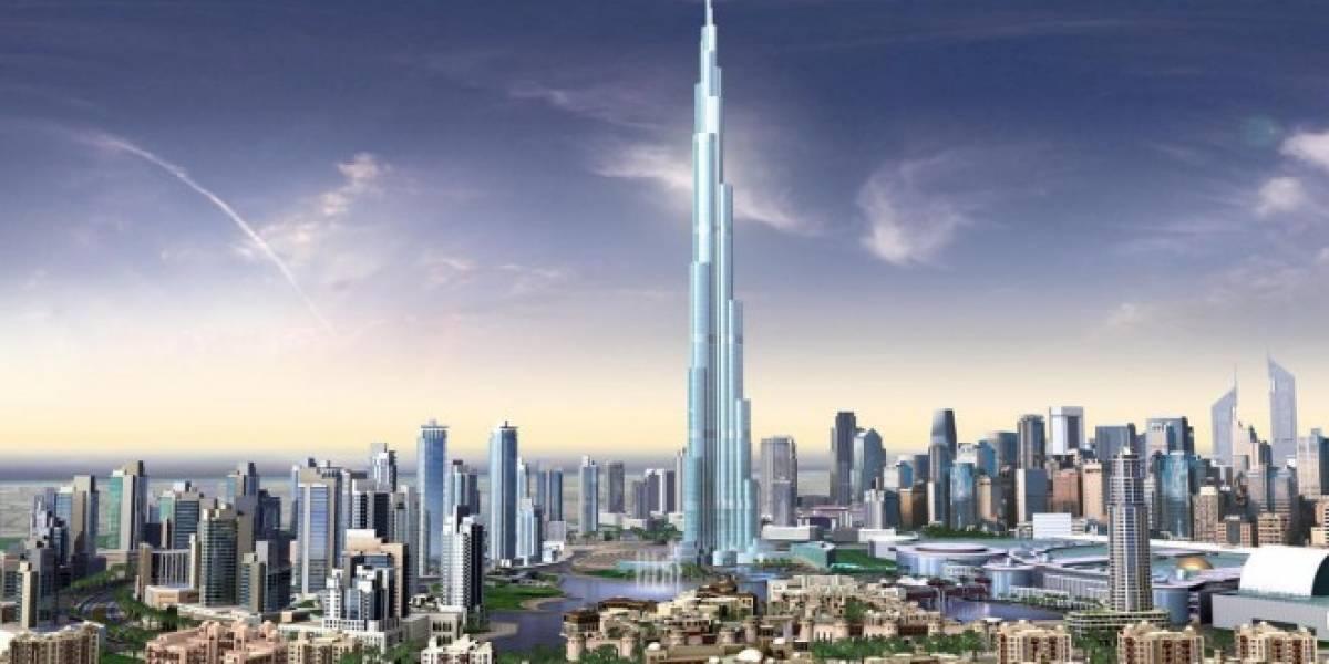 Burj Dubai se convierte en edificio más alto y sigue creciendo