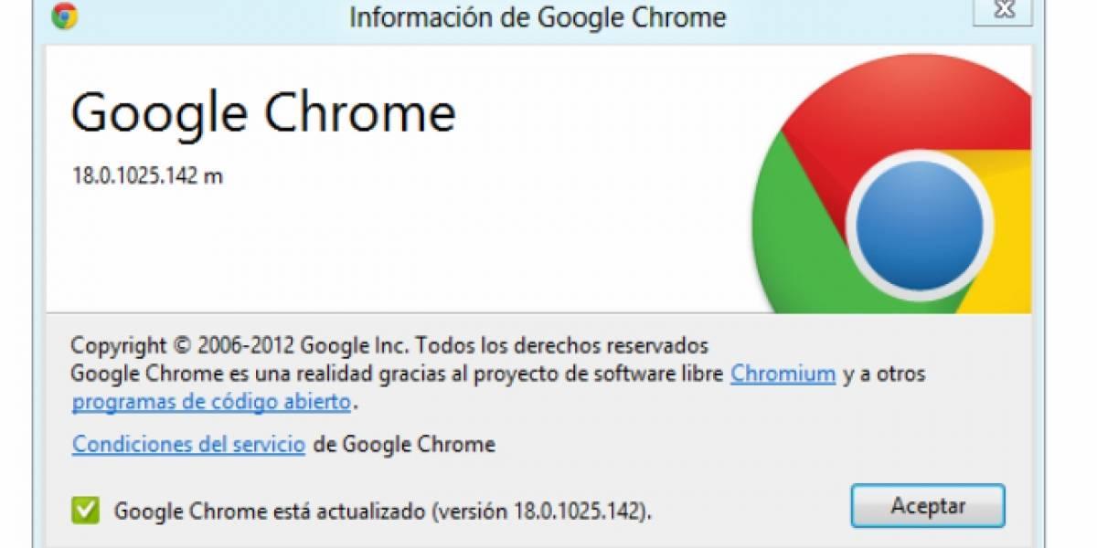Aparece Google Chrome 18 con algunas mejoras para elementos gráficos