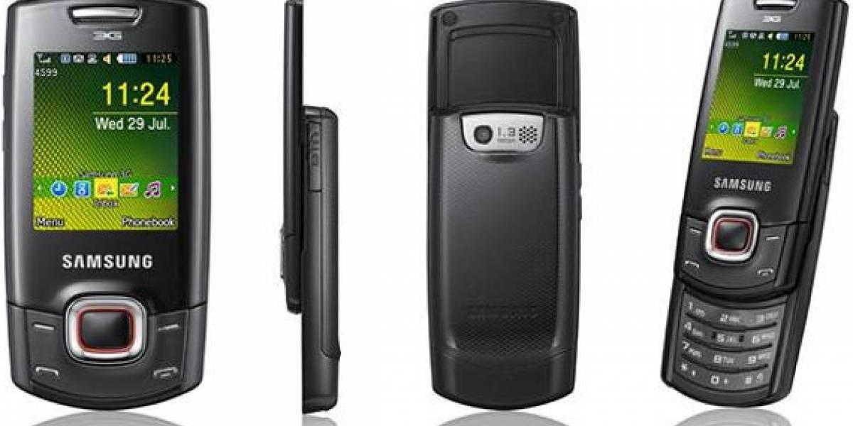 Futurología: Samsung C5130, un simple slider con 3G