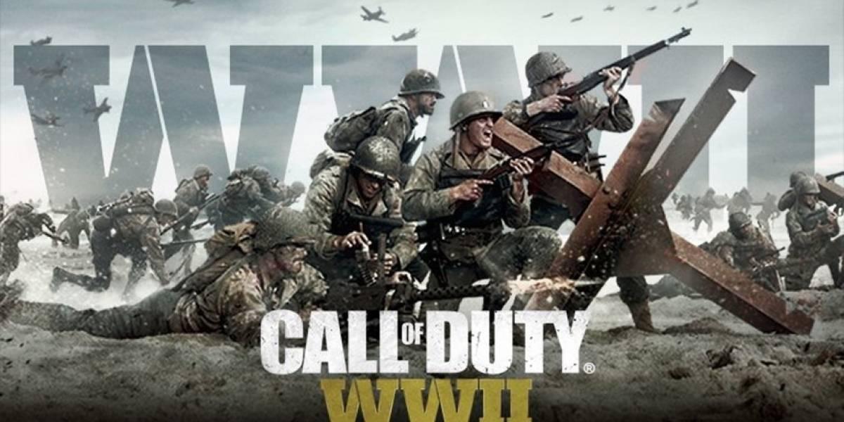 Hoy se revela el detrás de cámara de Call of Duty WWII con un nuevo streaming