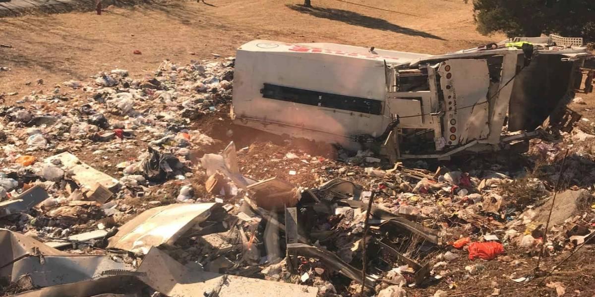 Tren que transportaba a congresistas de EE.UU. colisiona con un camión