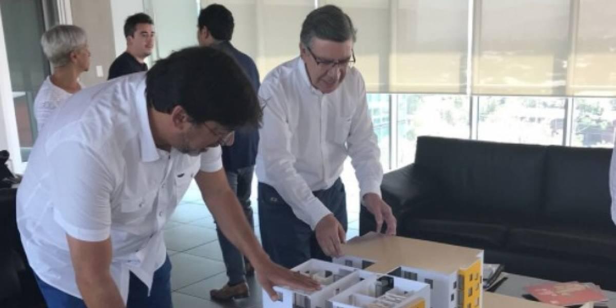 """¿""""Inmobiliaria popular"""" en Las Condes?: Lavín se reúne con alcalde de Recoleta para profundizar sobre la """"innovadora y replicable"""" iniciativa"""