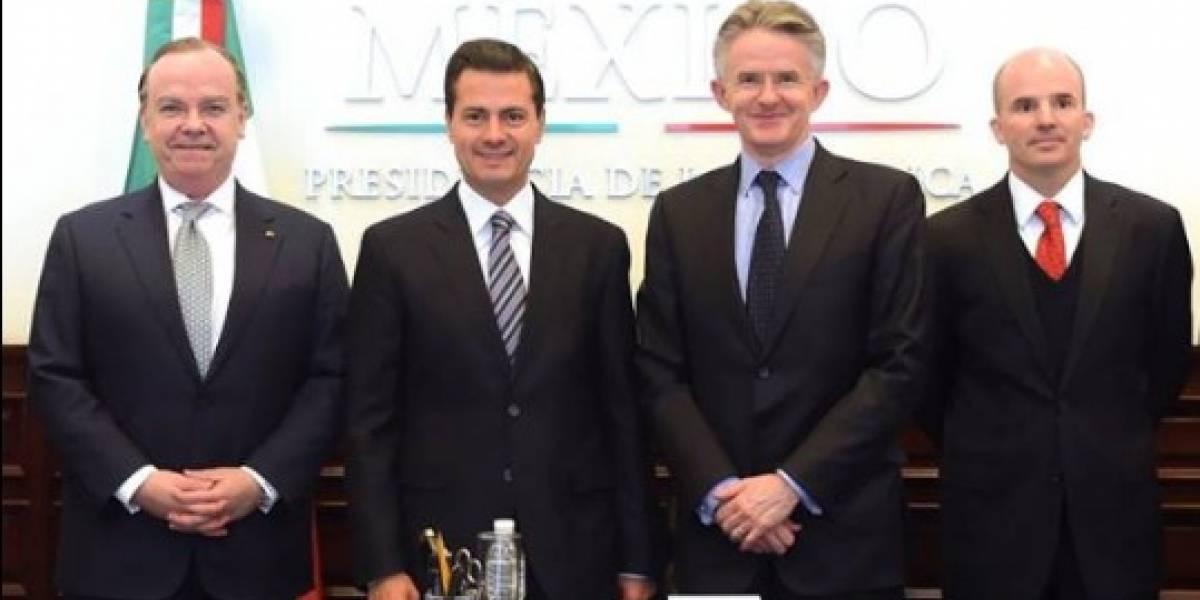 Peña Nieto se reúne con ejecutivos HSBC Holdings