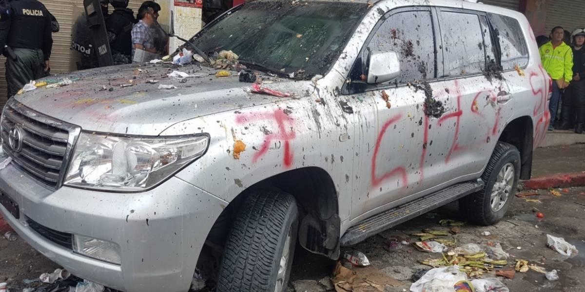 OEA rechaza los actos violentos en la campaña por la consulta en Ecuador
