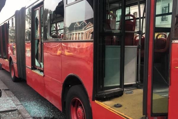 Evacúan TransMilenio