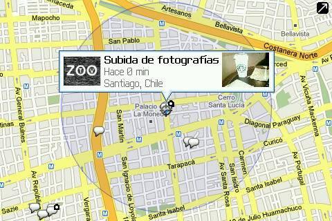 Google Maps para BlackBerry se integra con Buzz