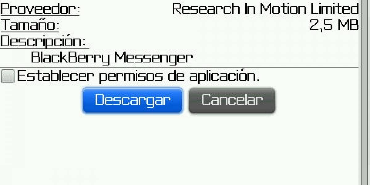 BlackBerry actualiza su cliente de mensajería
